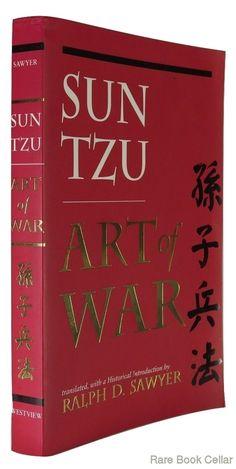 THE ART OF WAR, Tzu, Sun & Ralph D. Sawyer