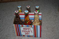 Father's Day gift for the Dad who has everything: Candy Bottles