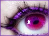Fushia Contact Lenses - Check out more colors at http://www.colormecontacts.com