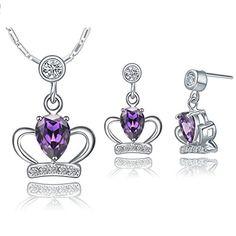 Virgin Shine Platinum Plated Rhinestones Crown Jewelry Sets VIRGIN SHINE http://www.amazon.com/dp/B00LGQG4J8/ref=cm_sw_r_pi_dp_r7ptub0498AY8