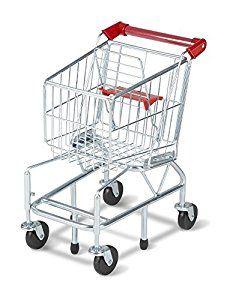 Amazon.com: Melissa & Doug Toy Shopping Cart With Sturdy Metal Frame: Melissa & Doug: Toys & Games