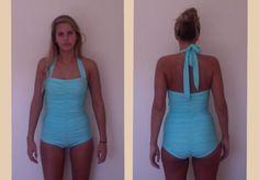 Retro Rouche|Beverly Swimwear I One Piece Swimsuits I Modest Bathing Suits I Custom Swimsuits