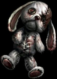 ALICE MADNESS RETURNS: Alice's stuffed rabbit toy - like, 90% sure I could make this one.