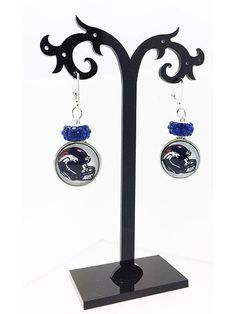 Sports: Earrings- Celebration for the Awesome Denver Broncos!