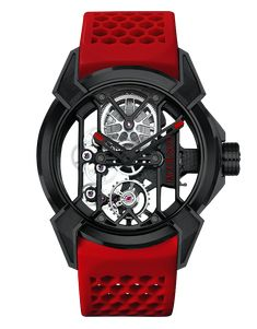 """<p>Epic X watches are a modern evolution of one of the most traditional forms of watchmaking. The open-worked, or """"skeletonized"""" timepiece allows the movement to be visible both through the dial and the back of the watch, with as much metal removed as possible without compromising functionality. The goal of the watchmaker crafting an open-worked watch is to achieve the highest level of transparency possible; the combination of visual lightness with structural integrity.</p>"""