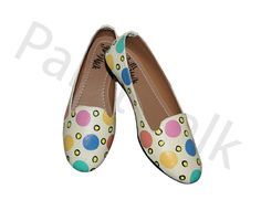 Hand painted polka dot bellies