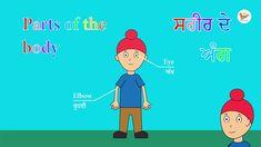 Parts of the body in English and Punjabi || ਸਰੀਰ ਦੇ ਅੰਗ ਅੰਗਰੇਜ਼ੀ ਅਤੇ ਪੰਜਾ... Alphabet Tracing, Body Parts, Family Guy, English, King, Education, Learning, Videos, Sweet