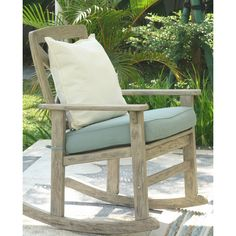 Found it at Wayfair - Porto Rocking Chair with Cushion