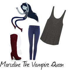 Marceline The Vampire Queen - Cosplay Makeover Monday Adventure Time