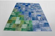 Vintage Carpet Patchwork