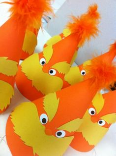 Lorax party hats