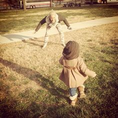 Pink shared this adorable picture while playing in the grass with her daughter, Willow Hart. #cute #babies