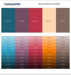 Sunset Orange – Scarlet – Old Copper – Dark Tan – Oil Color scheme Dark Color Palette, Purple Color Palettes, Green Color Schemes, Color Combinations, Ebony Color, Hex Color Codes, Rust Color, Gray Color, Color Card