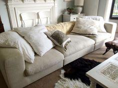 ENVIE INTERIORS sofa love  {envieinteriordesign.com}