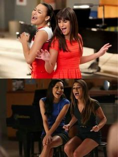 Pezberry first and last duet. They had 8 duets. They should've gave more to Brittana and Faberry. Pezberry' just ughhh