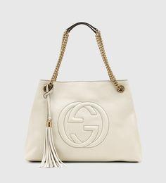 soho leather shoulder bag