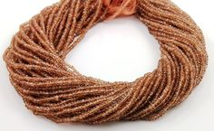 Natural Brazilian AAA Quality Andalusite Gemstone  by Beadspoint, $31.95