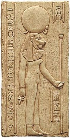 Sekhmet is among the most ancient of the early Egyptian deities known as the goddess of joy. She is another form of the triple goddess who presides over birth, life, and death
