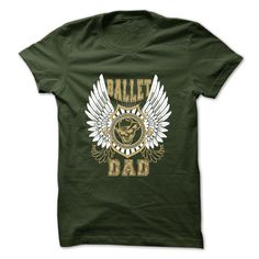 Ballet Dad T-Shirts, Hoodies. GET IT ==► https://www.sunfrog.com/Sports/Ballet-Dad-Forest-45097667-Guys.html?id=41382