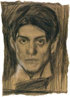 Pablo Picasso · Autoritratto · 1899 ca · Museo Picasso · Barcelona