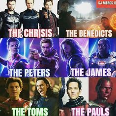 Poor Tom Holland and Chris Pratt! Their real names AND their character's names match with someone else!