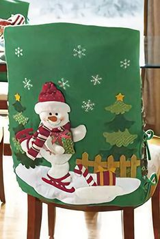 cobertor nieve Diy Christmas Tree Skirt, Christmas Chair, Christmas Table Decorations, Red Christmas, Christmas Stockings, Christmas Crafts, Christmas Ornaments, Holiday Decor, Felt Banner