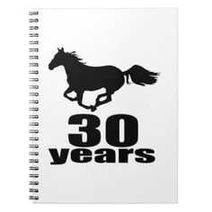 #30 Years Birthday Designs Notebook - #giftidea #gift #present #idea #number #thirty #thirtieth #bday #birthday #30thbirthday #party #anniversary #30th