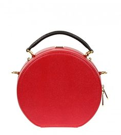 DOLCE & GABBANA Red Leather Anna Bag from WWW.PROFILEFASHION.COM