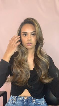 Glam Waves for the holidays 💕 # vintage Hairstyles videos Glam Waves Work Hairstyles, Hairstyles For School, Bride Hairstyles, Pretty Hairstyles, Hairstyles Videos, Pagent Hair, Hair Upstyles, Blowout Hair, Hollywood Stars