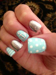 Summer anchor nails!
