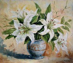 Lilies Armenian Art