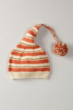 SoftBaby  Organic Cotton Knitted Stripe Hat