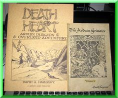 The Infamous and Greatly Feared Arduin Grimoire and Death Heart Adventure!