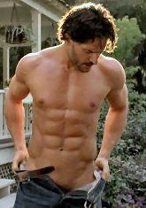 Joe Manganiello, some guys are just worth 'pinning' more than once...jus' sayin'