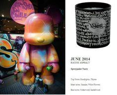 Nasty for Quintessence Paris 2014 Calendar Collection 140g RACINE ASPHALT (Spraypaint Nasty) http://french-studio-imports.myshopify.com/ #FSI