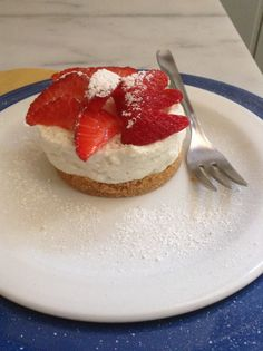 Deliciuos mini cheese cake...light and fresh!
