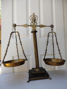 Solid Brass balance Scale