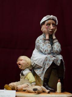 С 4 по 7 октября 2012 г. на Тишинской площади, дом 1, открылся «Салон авторских кукол»  Был проездом, это все что успел...