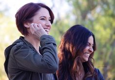 WOW // They're so beautiful // #sanvers // #supergirl // #ChylerLeigh & #FlorianaLima