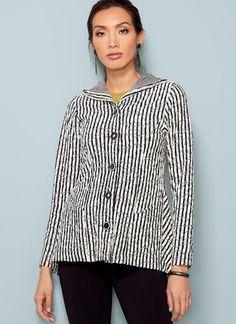 V9244   Misses' Paneled Jackets with Hood   Vogue Patterns