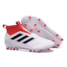 2007 Adidas ACE 17+ Purecontrol FG Dragon Blanco Negro Rojo