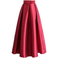 Chiffon maxi skirts, Pleated chiffon maxi skirt and Pink on Pinterest