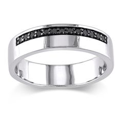 Fancy Diamond Men us Wedding Bands Groom Wedding Rings Overstock Shopping