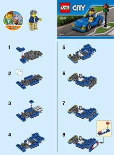 City - Sports Car [Lego 30349]