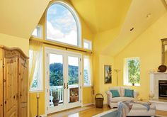 The beauty of custom-made: mix and match window and door styles to suit your needs.