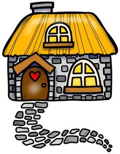 Fairy Tale Clipart melonheadz 22 - 1630 X 2100 for Android, Windows, Mac and Xbox Hansel Y Gretel, Bunny Painting, Cute Clipart, Paper Crafts, Diy Crafts, Cute House, House Drawing, Rock Crafts, Cute Images