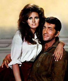 Raquel Welch and Dean Martin in Bandolero! (1968)