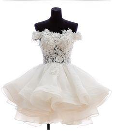 short Prom Dresses,white prom dress,off shoulder prom Dress,party dress,homecoming dress,BD800