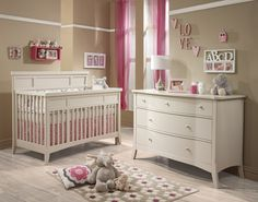 Natart London Collection in Weathered finish  - Natart is a Greenguard Certified manufacturer, Low VOC cribs & furniture - 100% solid wood construction - Made in Canada | Baby & Nursery Furniture