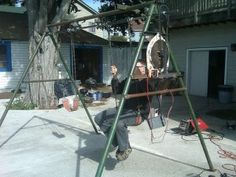 A Swing Set that Generates Electricity A Swing Set that Generates Electricity DIY Project - Homesteading - Off Grid